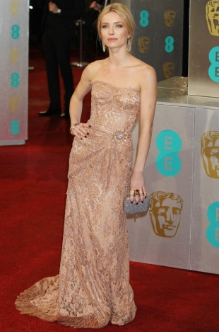 2013 BAFTA Awards Dresses: Annabelle Wallis