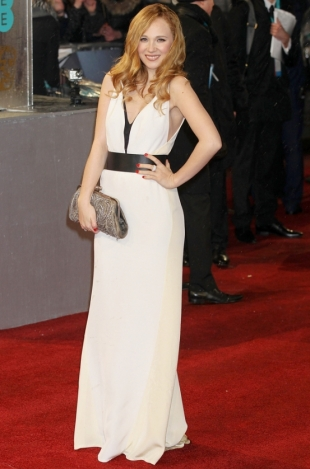 2013 BAFTA Awards Dresses: Juno Temple