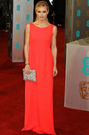 2013 BAFTA Awards Dresses: Laura Bailey