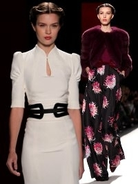 Carolina Herrera Fall 2013 Collection New York Fashion Week