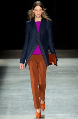 Narciso Rodriguez Fall 2013 Collection