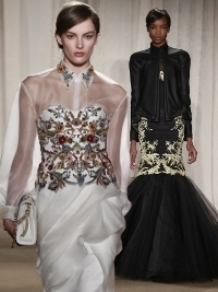 Marchesa Fall 2013 Collection New York Fashion Week