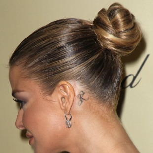 Behind Ear Tattoos: Celebrities with Ear Tattoos