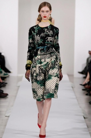 Oscar de la Renta Fall 2013 Collection
