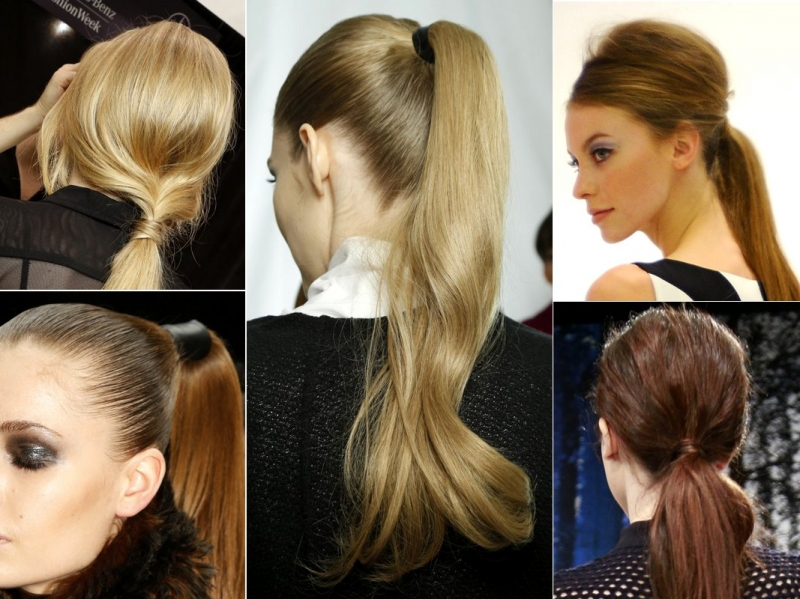 Hairstyles for Long Hair Pony Tails for Work