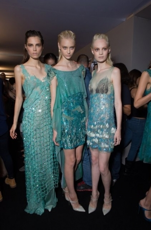 Alberta Ferretti at Milan Fashion Week Fall 2012