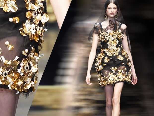 Dolce & Gabbana at Milan Fashion Week Fall 2013