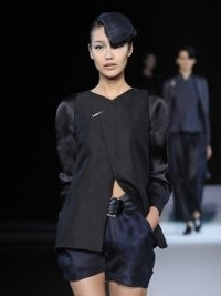 Giorgio Armani at Milan Fashion Week Fall 2013