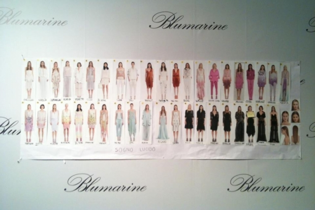Blumarine at Milan Fashion Week Fall 2013
