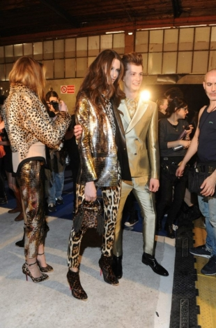 Just Cavalli at Milan Fashion Week Fall 2013