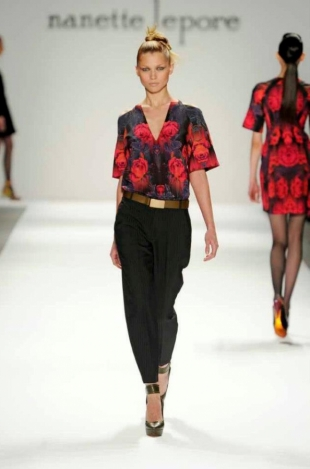 Nanette Lepore Fall 2013 Collection