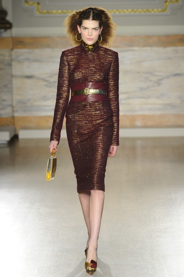 L 39 Wren Scott Fall 2013 Collection London Fashion Week