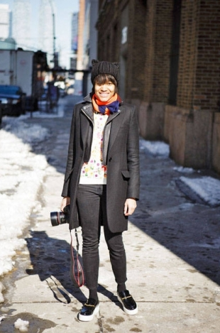 Street Style: New York Fashion Week Fall 2013