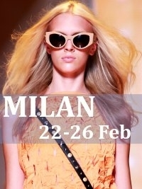 Milan Fashion Week Fall 2013 Schedule