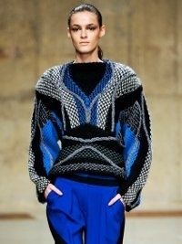 Peter Pilotto Fall 2013 Collection London Fashion Week