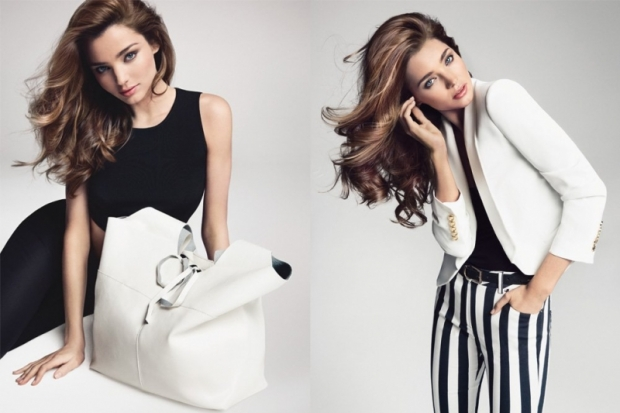 Mango Spring and Summer 2013 Campaign with Miranda Kerr