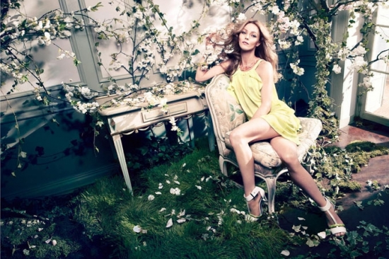 Vanessa Paradis for H&M Spring 2013 Campaign