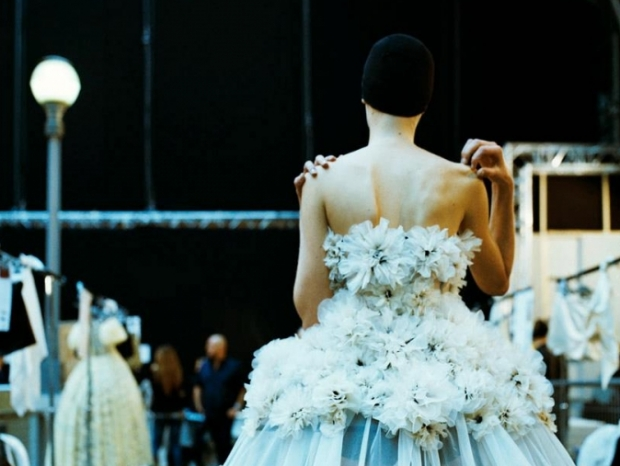 Alexander McQueen at Paris Fashion Week Fall 2013