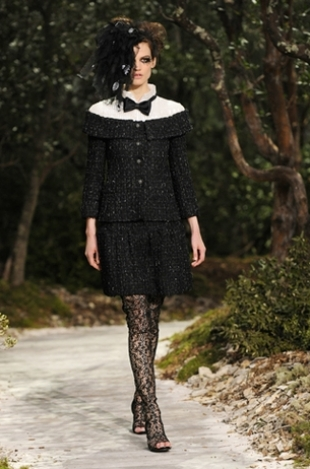 Chanel at Paris Fashion Week Fall 2013