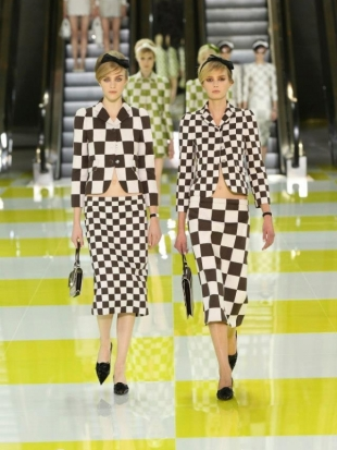 Louis Vuitton at Paris Fashion Week Fall 2013