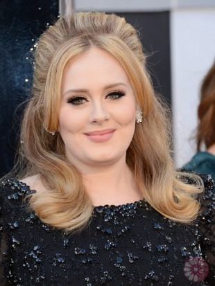 Adele Oscars Hairstyles 2013: Sixties Bouffant