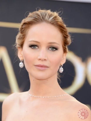 Jennifer Lawrence Oscars Hairstyles 2013: