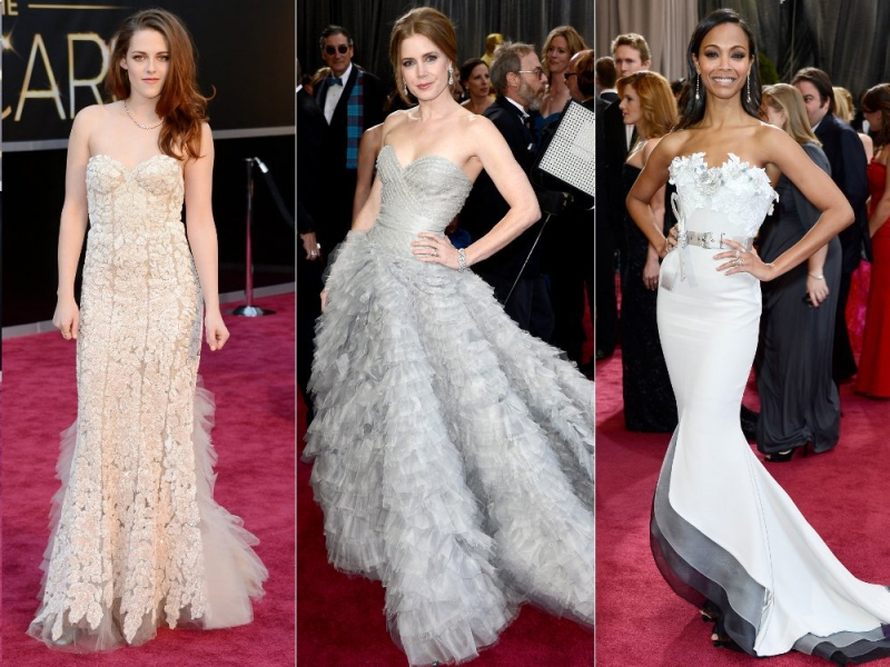 Oscars Dresses 2013 | Best Red Carpet Gowns.