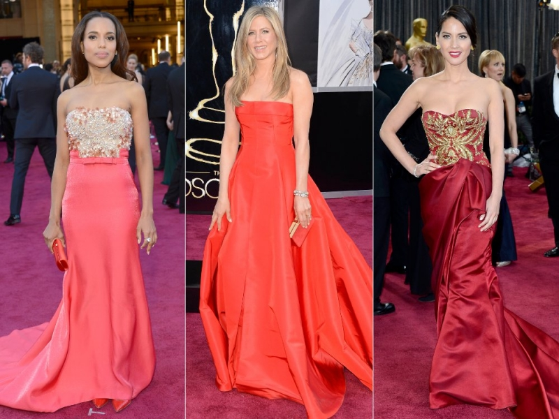 Oscar Red Carpet Dresses 2013