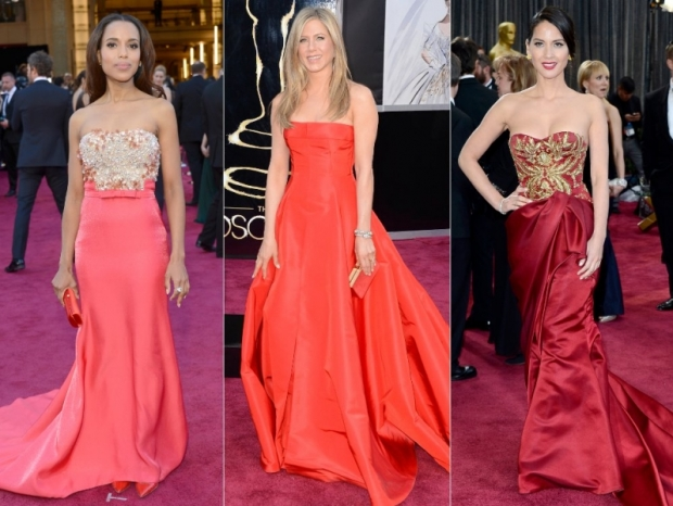 Oscars Dresses 2013: Ladies in Red