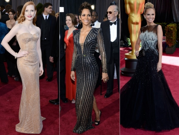 Oscars Dresses 2013: Black Gowns