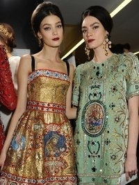 Dolce & Gabbana Fall 2013 Collection Milan Fashion Week