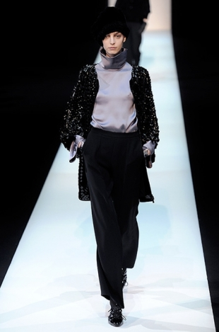 Giorgio Armani Fall 2013 Collection