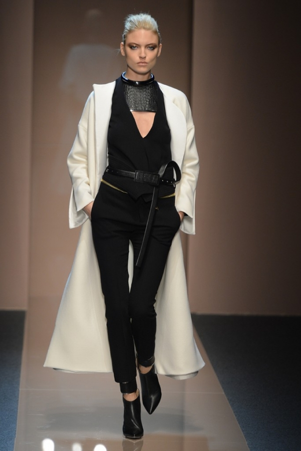 Gianfranco Ferre Fall 2013 Collection Milan Fashion Week.