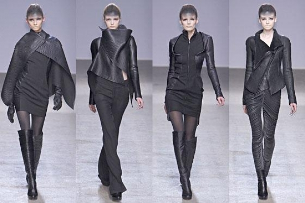 Gareth Pugh at Paris Fashion Week Fall 2013