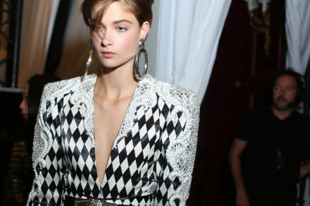 Balmain at Paris Fashion Week Fall 2013