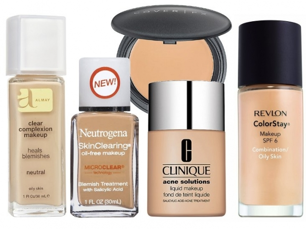 Full Coverage Foundations for Acne Skin