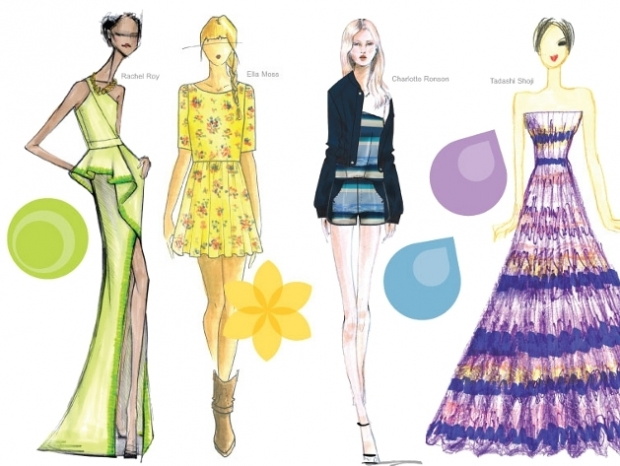 Pantone Spring 2013 Color Trends