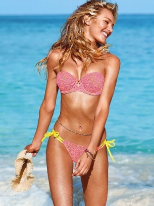 Candice Swanepoel for Victorias Secret Swim 2013 Catalog