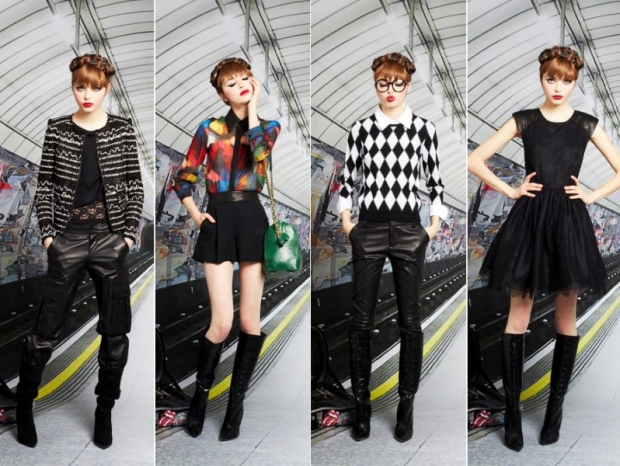 Alice + Olivia Pre-Fall 2013 Collection