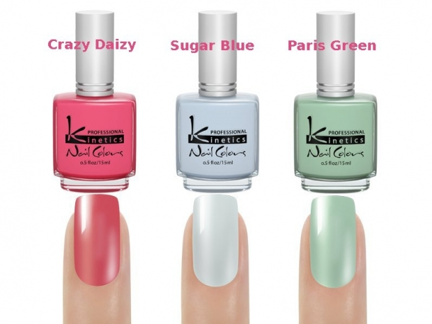 Kinetics Crazy Daizy Spring/Summer 2013 Nail Polish Collection