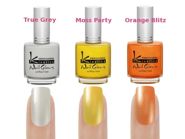 Kinetics Crazy Daizy Spring/Summer 2013 Nail Polishes