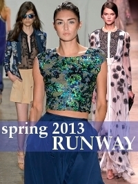 Top Runway Trends for Spring 2013