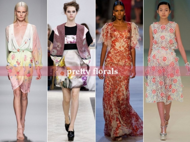 Floral Prints - Top Runway Trends for Spring 2013