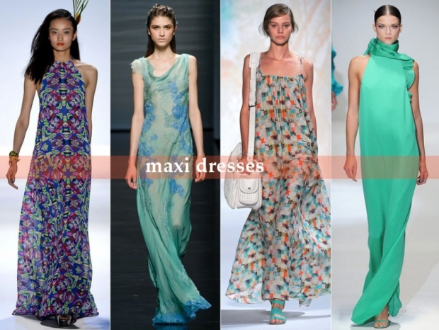 Maxi Dresses - Top Runway Trends for Spring 2013