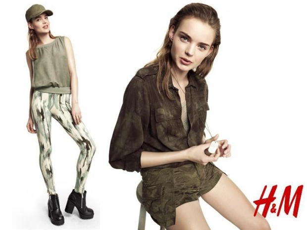H&M Divided Girls Spring 2013 Lookbook