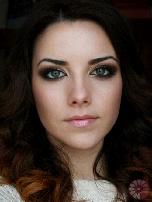Mila Kunis Smoky Eye Makeup Tutorial Finished Look