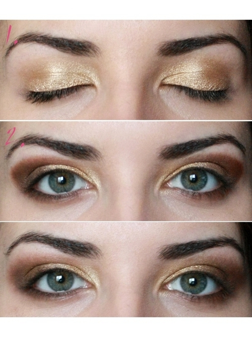 Step Mila Makeup Smoky natural kunis 2 tutorial and Tutorial mila makeup Kunis 1  Eye