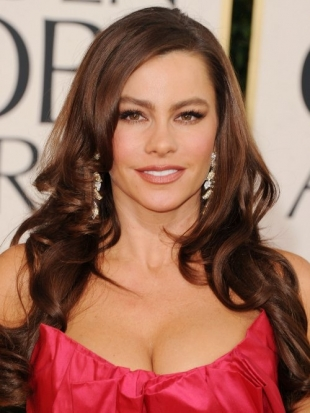 Sofia Vergara Hairstyle Golden Globes 2011