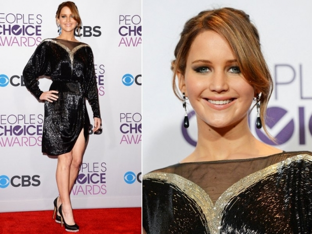 Jennifer Lawrence Dress 2013 Peoples Choice Awards