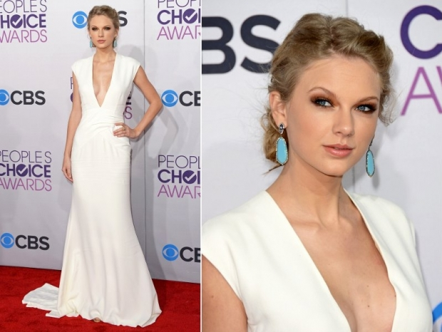Taylor Swift Dress 2013 Peoples Choice Awards Fashion